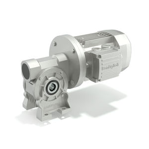 motorreductor AC / de tornillo sin fin / de ejes ortogonales / 5 - 10 kNm
