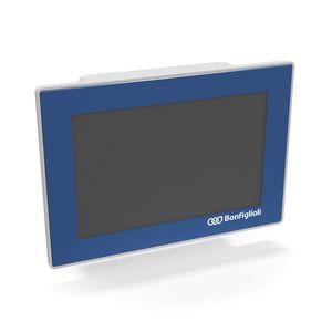 HMI con pantalla táctil