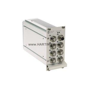 conmutador Ethernet no administrable / 7 puertos / rápido / industrial
