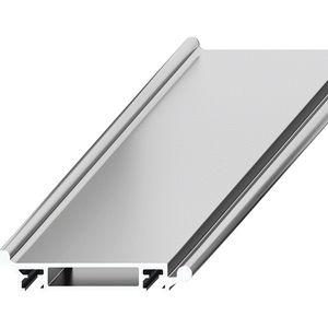riel doble / de guiado lineal / de aluminio / de rodillos