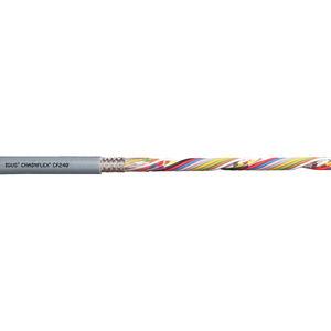 cable eléctrico de datos / resistente al aceite / antipropagación de fuego / espiralado