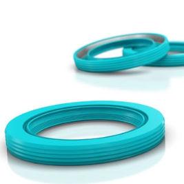 junta de caucho / de elastómero / sintética / de aceite