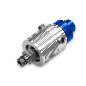 racor giratorio para fluido refrigerante / de aluminio / de acero inoxidable / radial