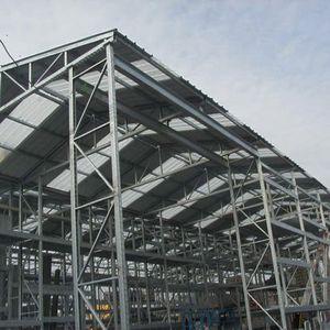 sistema de estanterías con techo / depósito de almacenamiento / para cajas / para material de construcción