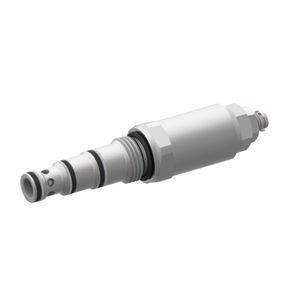 válvula de cartucho / con control hidráulico / para enroscar / de dos niveles