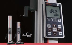 calibrador de altura con pantalla digital