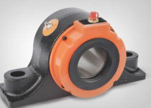 soporte con rodamiento de placa / monobloque / de rodillos cónicos / de metal