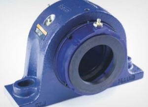 soporte con rodamiento monobloque / de rodamiento de rodillos a rótula / de acero / empotrado
