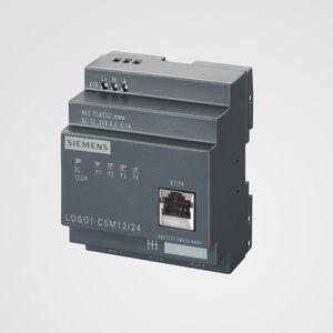 módulo conmutador Ethernet no administrable / 4 puertos / para montaje sobre riel DIN / RJ45