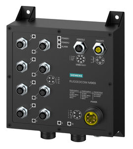 conmutador Ethernet administrable / 10 puertos / de nivel 2 / de fibras ópticas