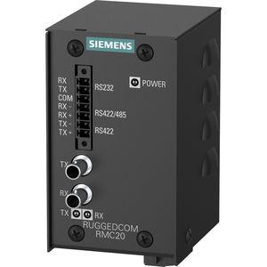 convertidor de medios / de fibras ópticas / en serie