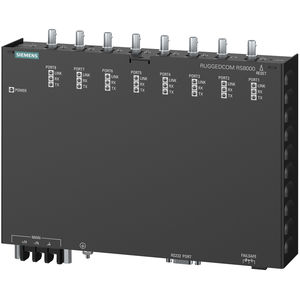conmutador Ethernet administrable / 8 puertos / de nivel 2 / ultrarrobusto