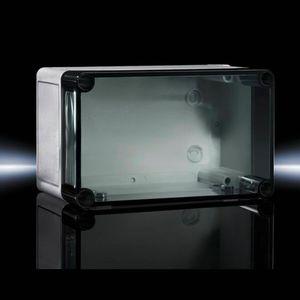 caja de plástico reforzado con fibra de vidrio