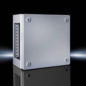caja de tamaño pequeño / rectangular / de chapa de acero / de acero lacado