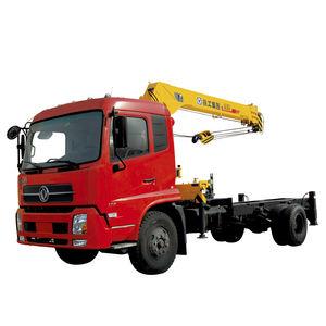 grúa montada sobre camión / telescópica / para aplicaciones mineras / para astillero naval