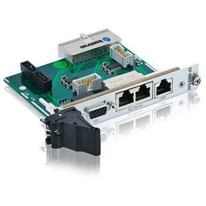 módulo E/S analógico / Ethernet / CompactPCI / módulo de transición posterior