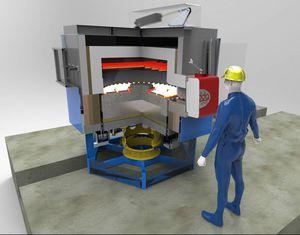 horno tratamiento térmico