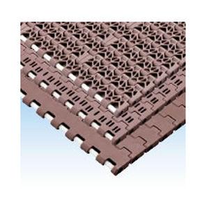 cinta transportadora flexible / modular / de plástico