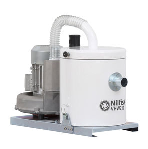 aspirador de polvo / monofásico / trifásico / para la industria agroalimentaria