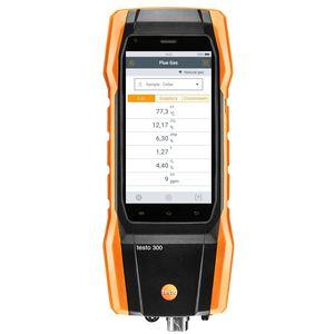 analizador de gas de combustión / de oxígeno / CO / de temperatura