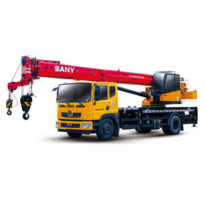 grúa montada sobre camión / para obra / de elevación