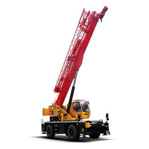 grúa móvil / para obra / para terreno difícil / de elevación