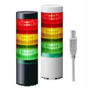 columna de señalización USB