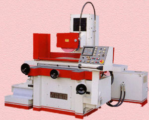 rectificadora plana / para chapa metálica / CNC / 3 ejes