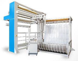máquina de hender para tejidos tubulares