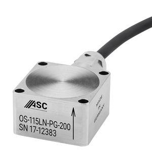 acelerómetro 1 eje / capacitivo / de bajo ruido