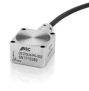 acelerómetro de 3 ejes / capacitivo / de bajo ruido / IP68