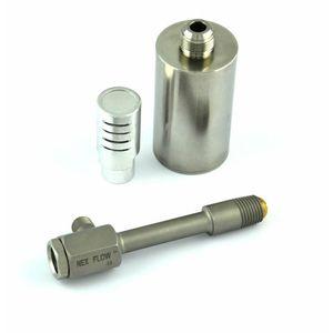 tubo vórtex de acero inoxidable / para aire caliente / para aire frío / para punto frío
