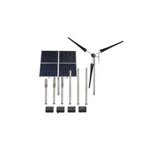 grupo de bombeo para agua / para aplicaciones solares / centrífugo / con motor eléctrico