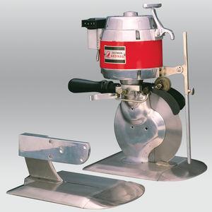 máquina de corte hender / de tejido / para caucho / de hoja rotativa