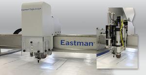 cabezal de corte por ultrasonidos / de un eje / para textiles