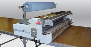 máquina tendedora de tela manual