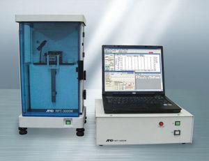 máquina de prueba de viscoelasticidad / de materiales / vertical / mecánica