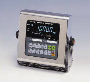 indicador de pesaje digital