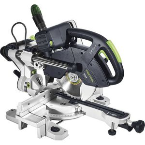 sierra ingletadora / para madera / compacta / con unidades de traslación