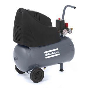 compresor de aire / con ruedas / con motor eléctrico / de pistón