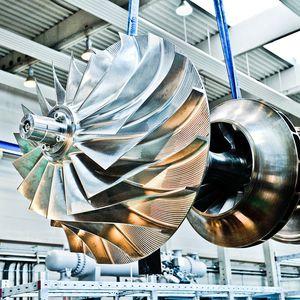 turbocompresor radial