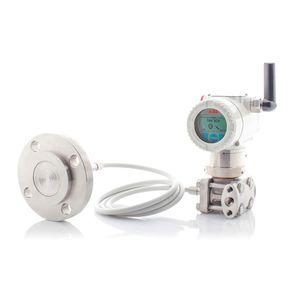 transmisor de presión diferencial / de membrana / analógico / de acero inoxidable