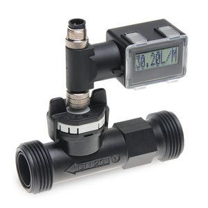 caudalímetro de vórtex / para líquido / compacto / 4-20 mA