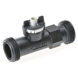 caudalímetro de vórtex / para líquido / para agua / compacto