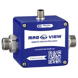caudalímetro electromagnético / para líquido / para agua / compacto