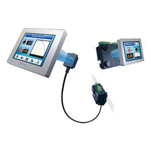 terminal HMI con pantalla táctil