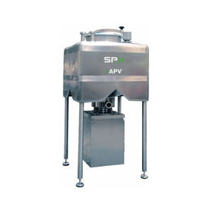 mezcladora dinámica / continua / líquido-sólido / de polvo