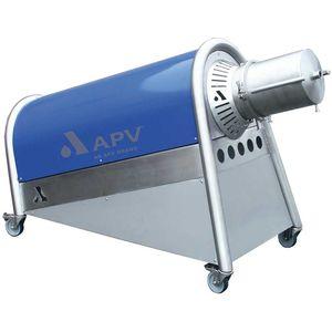 mezcladora de rotor y estator / en línea / líquido-sólido / líquido-gas
