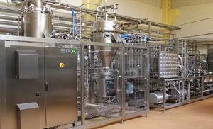 pasteurizador para productos lácteos
