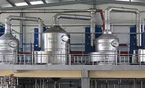 evaporador de placas
